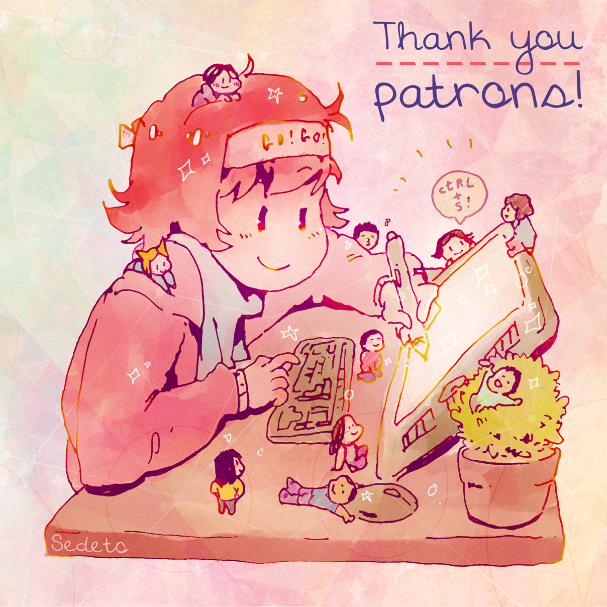 thank you patreon day